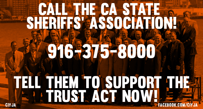Tell the CSSA to support the TRUST Act NOW!