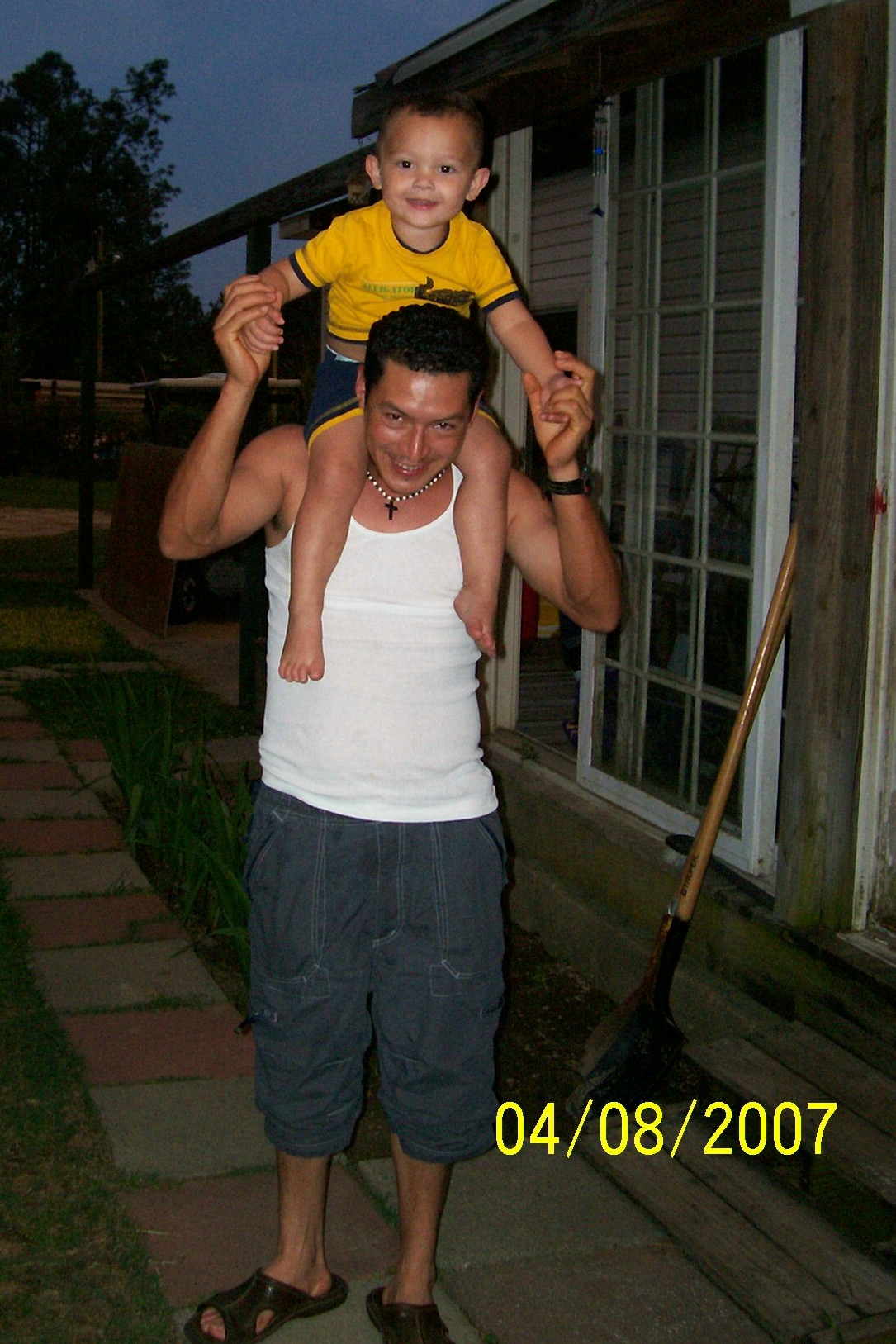 Jose and his nephew