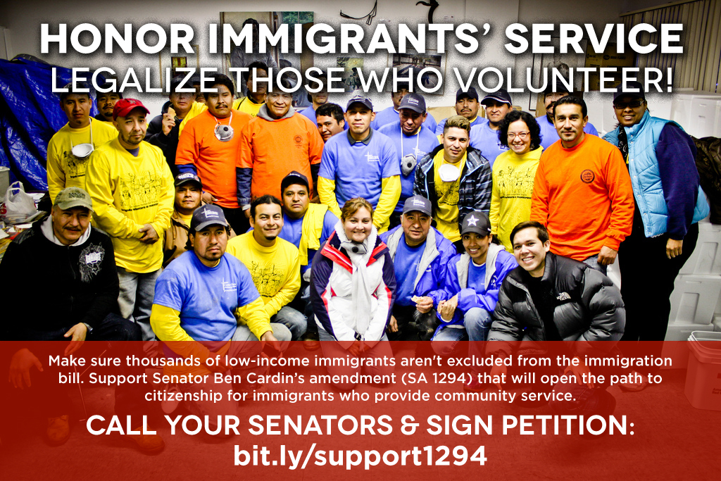 Honor Immigrants' Service